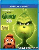 The Grinch (2018) (Blu-ray) (2D + 3D) (Hong Kong Version)