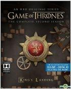 Game Of Thrones (Blu-ray + Digital HD) (Ep. 1-10) (The Complete Second Season) (Steelbook) (US Version)