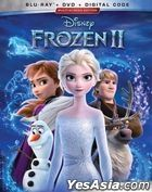 Frozen II (2019) (Blu-ray + DVD + Digital Code) (US Version)