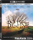Big Fish (2003) (4K Ultra HD + Blu-ray) (Taiwan Version)