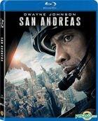 San Andreas (2015) (Blu-ray) (Hong Kong Version)