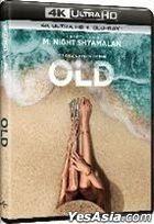Old (2021) (4K Ultra HD + Blu-ray) (Hong Kong Version)