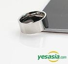 BEAST : Yong Jun Hyung Style - Simple Surgical Ring (Glossy) (US Size: 8 1/2 - 9)