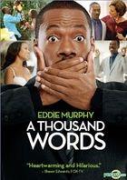 A Thousand Words (2012) (DVD) (Hong Kong Version)