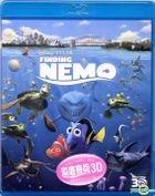 Finding Nemo (2003) (Blu-ray) (3D) (Hong Kong Version)