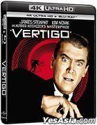 Vertigo (1958) (4K Ultra HD + Blu-ray) (Hong Kong Version)