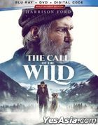 The Call of the Wild (2020) (Blu-ray + DVD + Digital Code) (US Version)