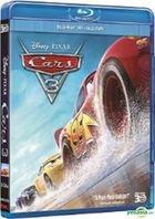 Cars 3 (2017) (Blu-ray) (2D + 3D) (Hong Kong Version)