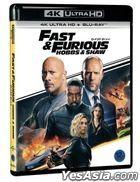 Fast & Furious Presents: Hobbs & Shaw (4K Ultra HD + Blu-ray) (Korea Version)