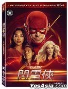 The Flash (DVD) (Ep. 1-19) (The Complete Sixth Season) (Taiwan Version)