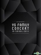 15th  Anniversary 2011 YG Family Concert Live (3DVD + Photobook) (Reissued) (Korea Version)