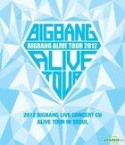 Big Bang - 2012 Big Bang Live Concert CD [Alive Tour in Seoul]