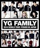 YG FAMILY WORLD TOUR 2014 -POWER- in Japan (DVD) (Japan Version)