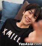 XIW - XMILE Oversized T-Shirt (Black) (Size XL)