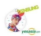 1THE9 1st Fanmeeting 'Hello, Wonderland' Official Goods - Acrylic Charm Key Ring (Jung Jin Sung)