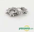 EXO & B.A.P & Infinite Style - Pointed Earrings (Silver)