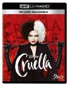 Cruella (4K Ultra HD MovieNEX + 4K Ultra HD + Blu-ray) (Japan Version)