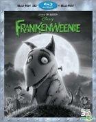 Frankenweenie (2012) (Blu-ray) (2D + 3D) (Hong Kong Version)