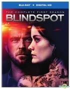 Blindspot (2015) (Blu-ray + Digital HD) (The Complete First Season) (NBC TV Drama) (US Version)