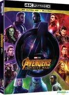 Avengers: Infinity War (4K Ultra HD + 2D Blu-ray) (2-Disc) (Korea Version)
