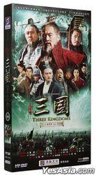 Three Kingdoms (2010) (DVD) (Ep. 1-95) (End) (China Version)