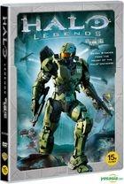 Halo Legends (DVD) (Korea Version)