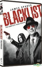 The Blacklist (DVD) (Ep. 1-23) (The Complete Third Season) (Hong Kong Version)
