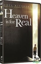Heaven Is for Real (2014) (DVD) (Hong Kong Version)