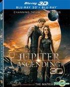 Jupiter Ascending (2015) (Blu-ray) (2D + 3D) (Lenticular) (Hong Kong Version)