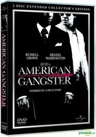 American Gangster (DVD) (2 Disc Extended Collector's Edition) (Hong Kong Version)