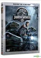 Jurassic World (2015) (Blu-ray) (2D + 3D) (Hong Kong Version)