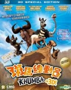 Khumba (2013) (Blu-ray) (3D Special Edition) (Hong Kong Version)