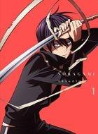 Noragami Aragoto Vol.1 (Blu-ray) (First Press Limited Edition)(Japan Version)