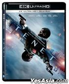 Tenet (2020) (4K Ultra HD + Blu-ray) (3-Disc Edition) (Hong Kong Version)