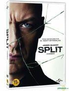 Split (DVD) (Korea Version)