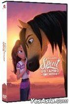 Spirit Untamed (2021) (DVD) (Hong Kong Version)