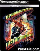 Last Action Hero (1993) (4K Ultra HD + Blu-ray) (Steelbook) (Taiwan Version)