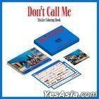 SHINee Sticker Coloring Book