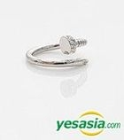 You Who Came From The Stars (SBS TV Drama) Style - Twinkle Nail Ring (Silver)
