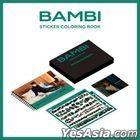 EXO : Baek Hyun - Sticker Coloring Book