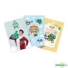 2PM : Ok Taec Yeon Cat Character - Greeting Card Set (3pcs)
