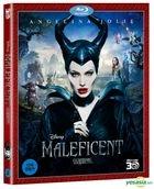 Maleficent (2014) (Blu-ray) (3D) (Korea Version)