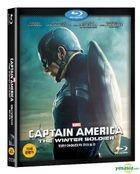 Captain America: The Winter Soldier (2014) (Blu-ray) (2D) (Korea Version)