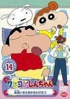 Crayon Shin Chan The TV Series - The 5th Season (DVD) (Vol.14) (Japan Version)
