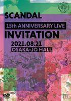 SCANDAL 15th ANNIVERSARY LIVE 『INVITATION』 at OSAKA-JO HALL  (Normal Edition) (Japan Version)