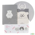 2014 SMTOWN Live World Tour IV in Seoul Goods - Button Notebook Mouse Pad Set (EXO)