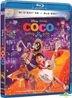 Coco (2017) (Blu-ray) (2D + 3D) (Hong Kong Version)
