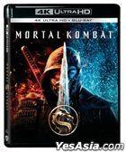 Mortal Kombat (2021) (4K Ultra HD + Blu-ray) (Hong Kong Version)