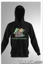 Call Me By Your Song - #Team Kaownah Art Hoodie (Black) (Size L)