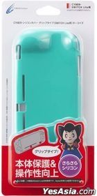 Nintendo Switch Lite Silicon Cover Grip Type (Turquoise) (Japan Version)